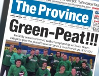 KOHA :: Province Article :: Team Green Champs 2014